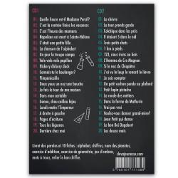 Comptines pour petits génies tracklist -40 chansons pour enfants