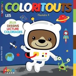 COLORITOUTS Abonnement - Magazine enfant