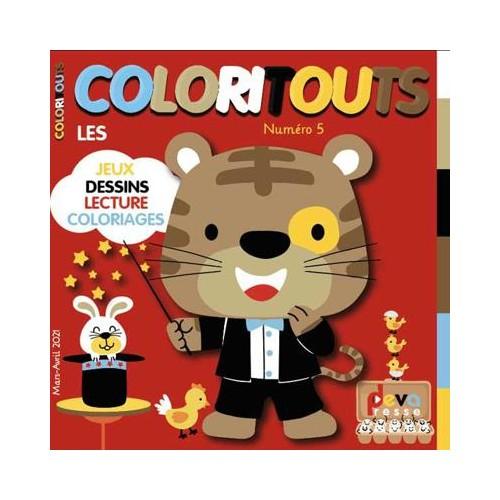 Abonnement COLORITOUTS - Magazine enfant