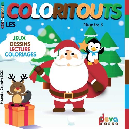 COLORITOUTS N°3 - Magazine enfants