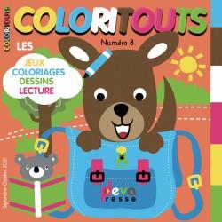 COLORITOUTS - Abonnement Magazine enfants
