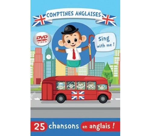 DVD Comptines anglaises