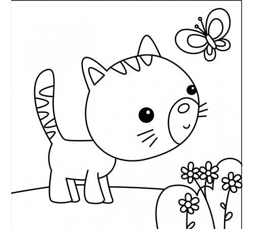 Comptines des Animaux : les coloriages à effectuer