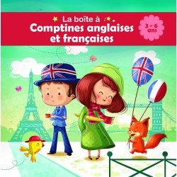 Comptines bilingue : Anglaises et françaises