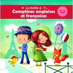 La boite à comptines bilingue : Anglaises et françaises