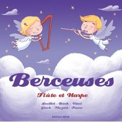 Berceuses  Flûtes et harpe