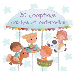 Double CD 50 Comptines crèches et Maternelles