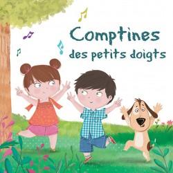 Comptines des petits doigts - CD 50 chansons pour enfants