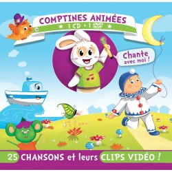Comptines animées (1CD+1DVD)