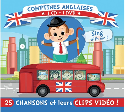 Comptines Anglaises (1CD+1 DVD)