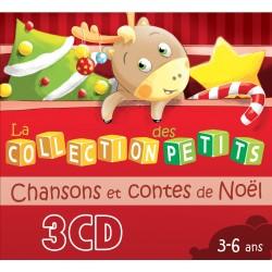 Contes et belles chansons de Noël - 3 CD Collection des petits