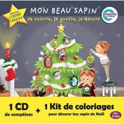 Coffret Mon beau Sapin avec kit de coloriage