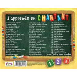 CD J'apprends en chantant