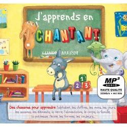 MP3 - J'apprends En Chantant - Comptines Pour Le Savoir