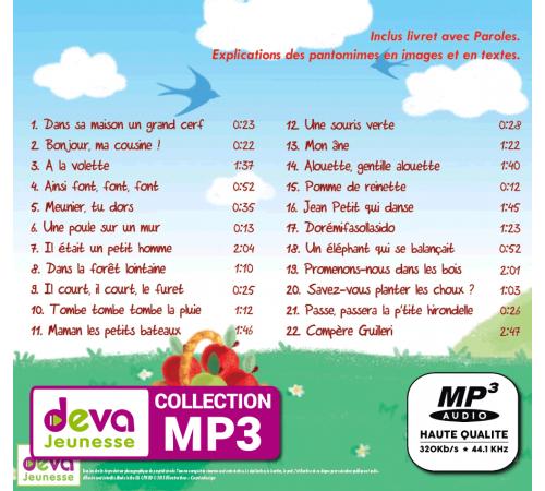 MP3 + Ebook - Les Plus Belles Comptines à Mimer