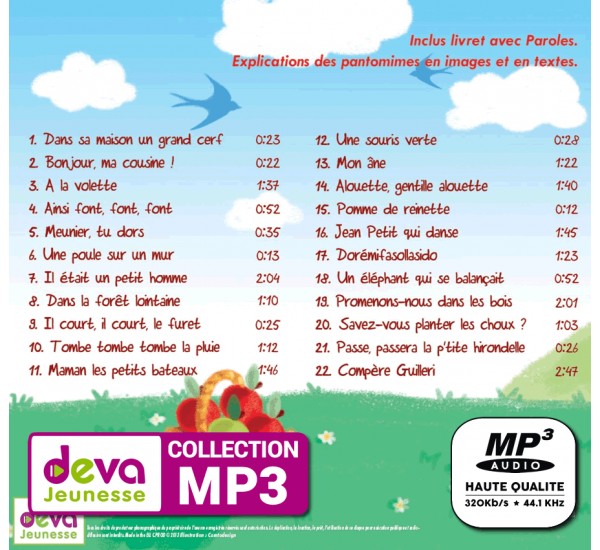 Promo MP3 Ebook Offerts | Deva Jeunesse