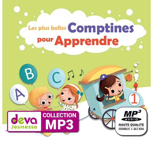 MP3 - Les plus belles comptines pour apprendre