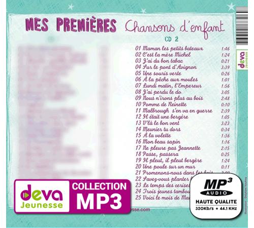 MP3 - Mes Premières Chansons d'Enfant Vol. 2