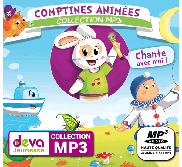 MP3 - Comptines animées