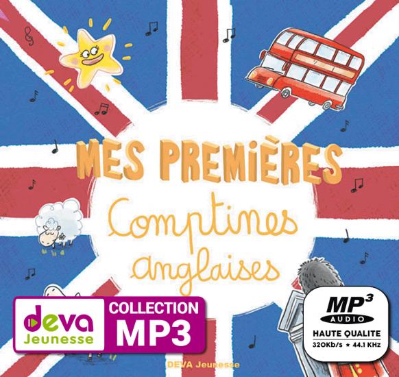 MP3 - Mes premières comptines anglaises