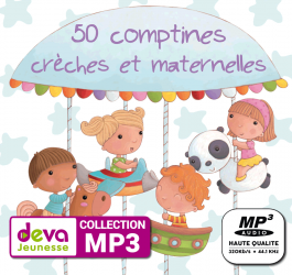 MP3 - 50 Comptines pour chanter
