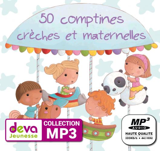 MP3 - 50 Comptines pour chanter