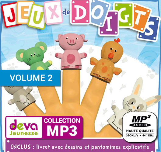MP3 + Ebook - Jeux de Doigts (Volume 2)