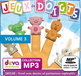 MP3 + Ebook - Jeux de Doigts (Volume 3)