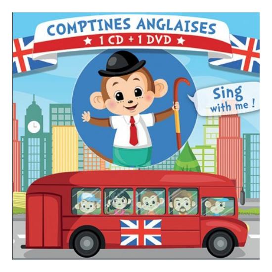 CD/DVD Comptines anglaises