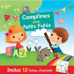 CD Comptines pour petits futés  avec cahier pratique