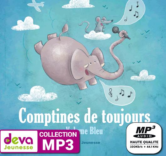 MP3 - Comptines de toujours (Volume Bleu)