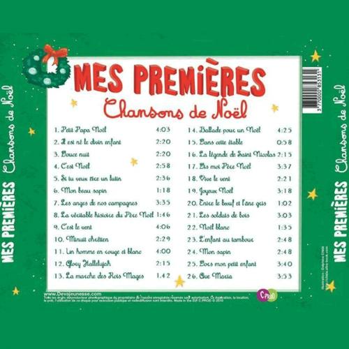 Mes premières chansons de Noël -CD