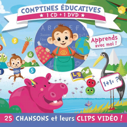 Comptines éducatives (1CD+1DVD)
