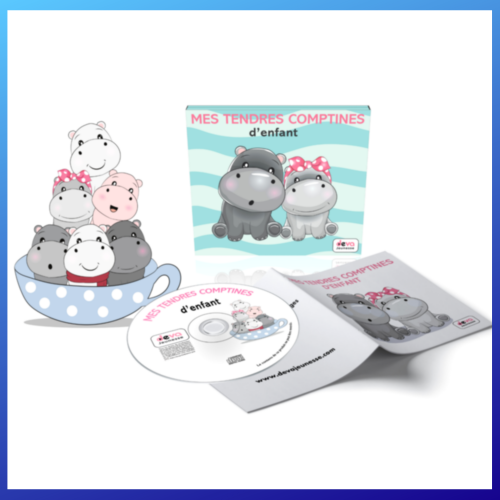 Mes tendres comptines CD+ LIVRET