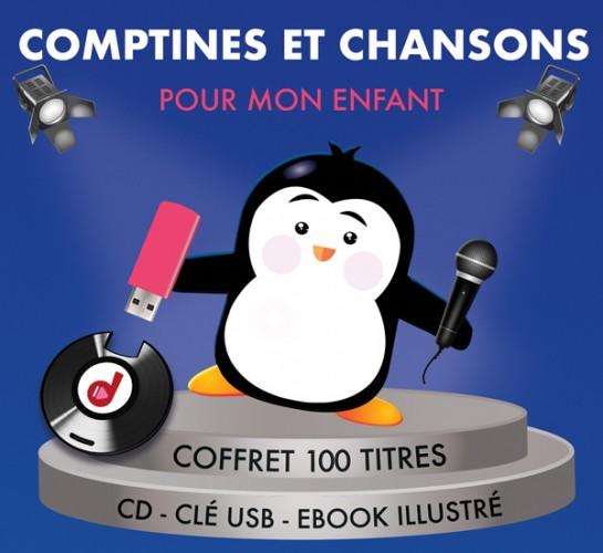 CD+ USB Comptines et chansons pour mon enfant
