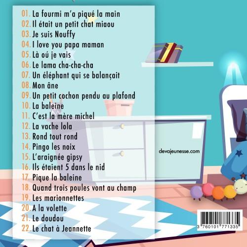 CD Plus belles comptines de mon doudou