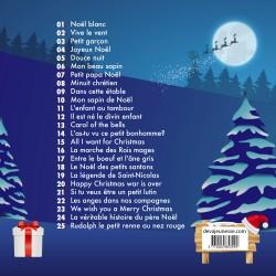 Comptines et chansons de Noël - Titres CD