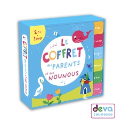 Coffret des parents et nounous - 2CD+1DVD