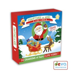 Comptines de Noël  CD+DVD + Livret des paroles