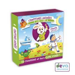 Comptines animées CD+DVD