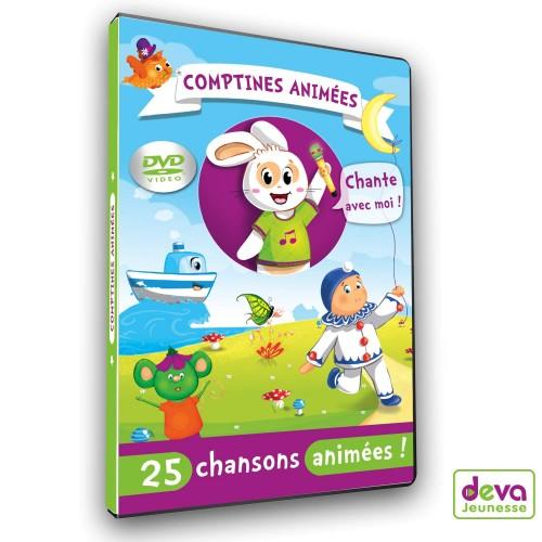 DVD Comptines animées +Livret