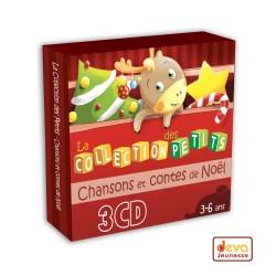 Chansons et contes de Noël - Coffret 3CD