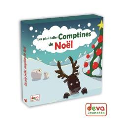 Les plus belles comptines de Noël (CD+Livret)
