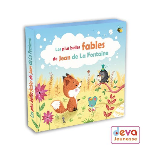 Fables de la Fontaine - CD + Livret