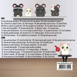 50 comptines a gestes - Titres de l'album