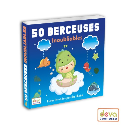 50 Berceuses inoubliables - Coffret 2CD + Livret illustré