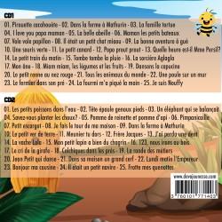 50 comptines pour bien grandir - Titres de l'album