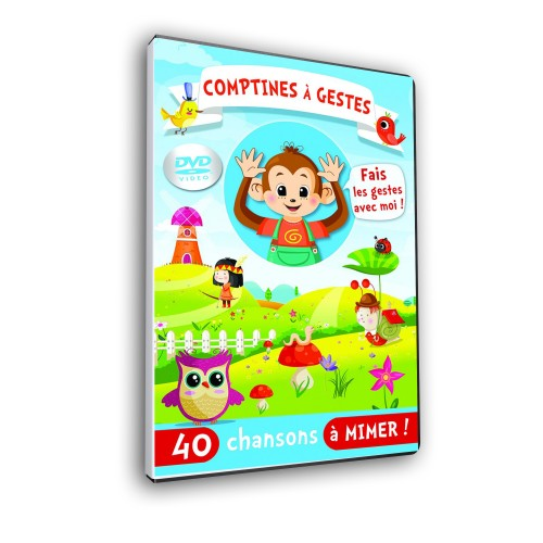 DVD comptines a gestes