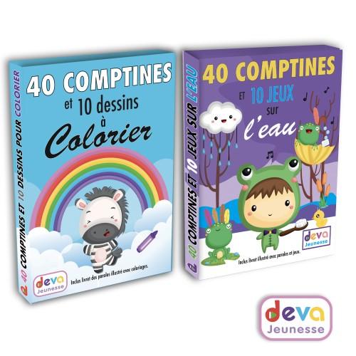 Comptines essentielles ( 4CD + Livret 80 pages)