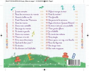 CD Chansons pour petits écoliers ( 28 Titres)